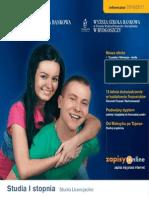 Informator 2010 - Studia I stopnia - Wyższa Szkoła Bankowa w Toruniu