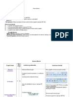 Word Proiect