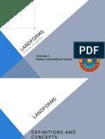 Landforms Social Studies