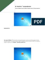 Quitar Contraseña de Windows 7 Manualmente