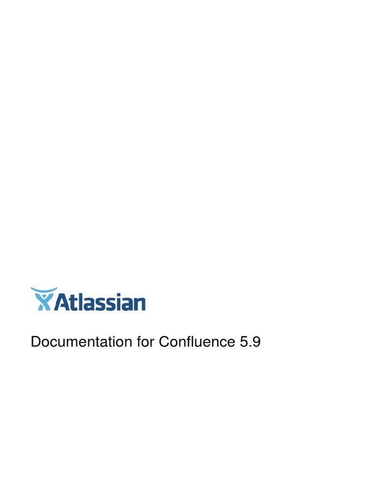 Confluence 5 9 1 completeguide pdf backup databases malvernweather Images