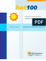 Sell My Timeshare NOW HOT 100 Timeshares 2008
