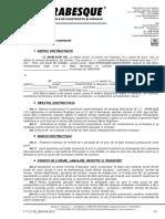 Contract Distributie