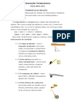 Ed Tecnológica - Teste Mai2015