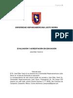 Evaluación y Acreditación en Educación