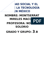 Equidad Social y El Uso de La Tecnología en México