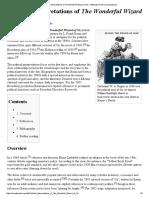 Political Interpretations of the Wonderful Wizard of Oz - Wikipedia, The Free Encyclopedia