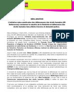 DÉCLARATION L'initiative méso-américaine des défenseuses des droits humains (IM-Defensoras) condamne le meurtre de la féministe et défenseuse des droits humains lenca Berta Cáceres et demande justice (03032016)