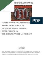 Cantos Gregorianos Artes