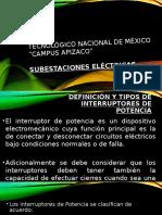 Tipos de Interruptores de Potencia