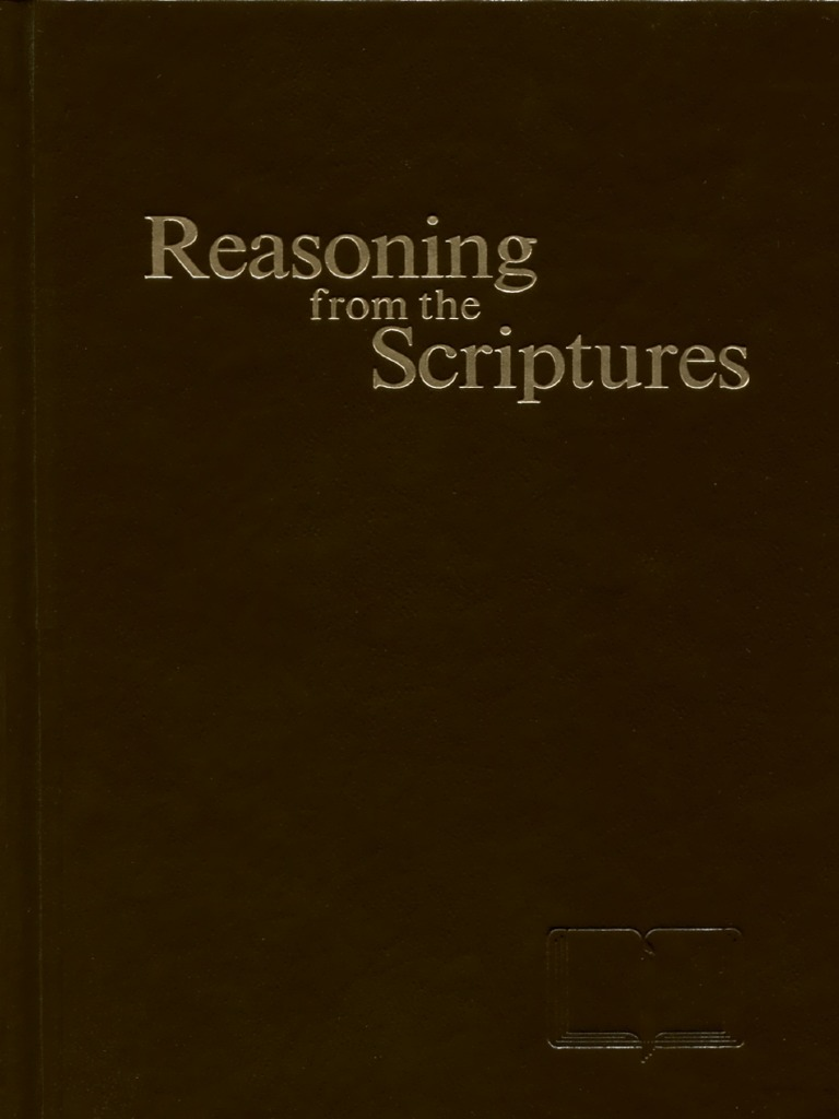 Watchtower reasoning from the scriptures 1985 1989 jesus god fandeluxe Choice Image
