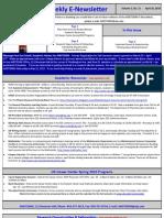 Newsletter 04 20 2010