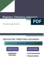 Régimen Tributario Aduanero  Perú