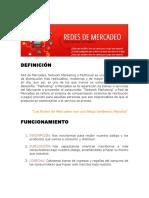 Redes de Mercadeo (Valiosa Información)