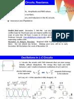 L22 AC Circuits Reactance