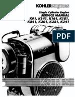 Kohler 301 Manual