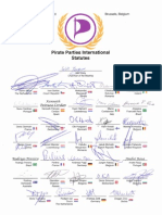 Statutes of the PIrate Parties International