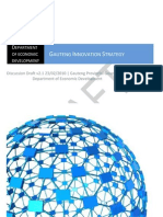 Gauteng Innovation Strategy Discussion Draft v2.1