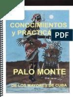 Conocimientos y Practicas de Palo Monte