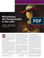IPM - Monetising the Rembrandts in the Attic