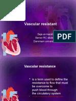Vascular Resistant