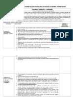 Programacion Curricular de Historia Geografc3ada y Economc3ada de Primero y Segundo