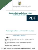 3- Composição Química e Valor Nutritivo Da Carne