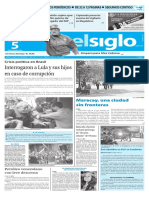 Edición Impresa Elsiglo 05-03-2016