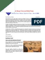 AMURT West Africa Newsletter April 2010