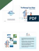 Mensagens da água para crianças - Masaru Emoto