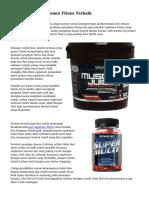 Tips Memilih Suplemen Fitnes Terbaik