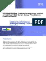 Storage - SVC HA Best Practices_v1.10
