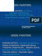 5-History of Painting, Greek Painters