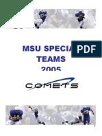 MSU SPECIAL TEAMS