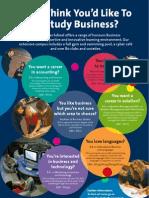 DCU Business School Undergraduate Poster