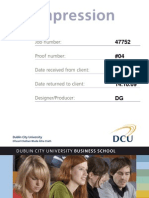 DCU MBS in Human Resource Management