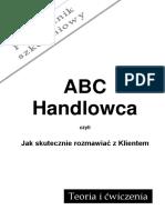 Podręcznik Szkoleniowy ABC Handlowca