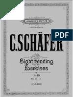 Schafer Sight Reading Book 2