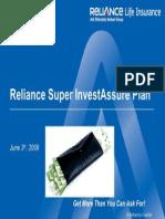 Reliance Super Invest Assure Plan-V1