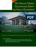 2010 VOSH Conference Brochure