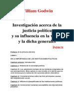 74080989 Investigacion Acerca de La Justicia Politica William Godwin