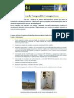 Campos Eletromagneticos - Serviços oferecidos pela EMField