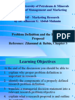 Files-2-Lectures Ch 05 Problem Definition and the Research Proposal