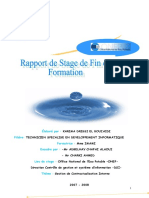 Rapport de Stage Gestion Contrat Interne
