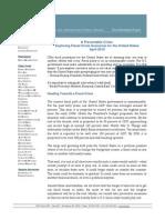 A Preventable Crisis - Exploring Fiscal Crisis Scenarios