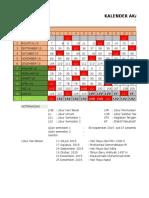 Kalender Pendidikan 2015-2016 RU