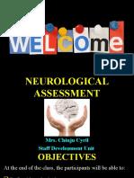 Neurological Assessment