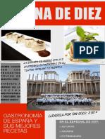 Gastronomía Navarra, Asturias y Extremadura