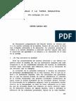 García Hoz - La Familia y La Tarea Educativa - Pedagogía Del Amor