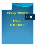 Psicologia e Marketing = Resumao VI de 27 04 2010